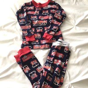 Baby Gap Fire Truck Pajamas